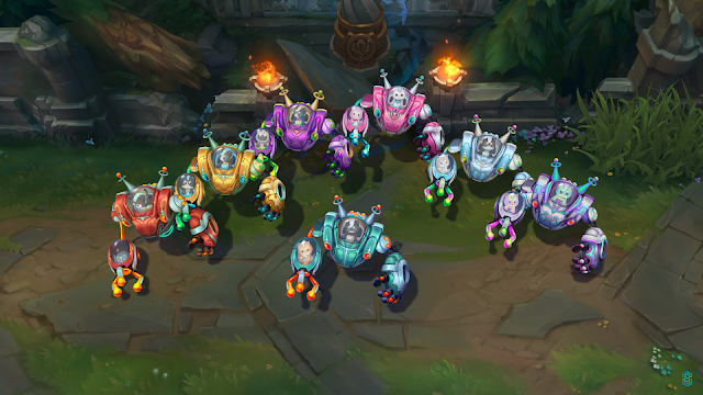 Space Groove all chromas