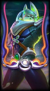 Space Groove Nasus loading screen