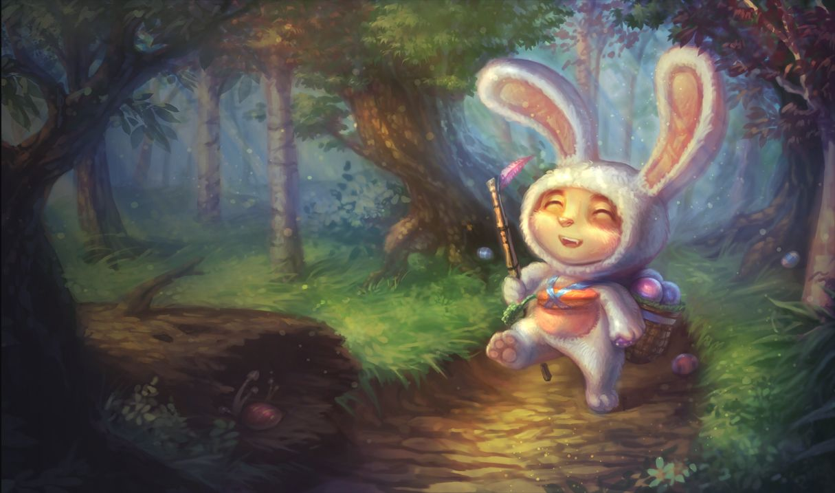 league of legends cottontail teemo easter skin