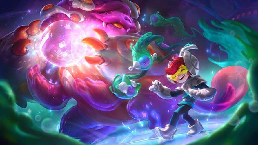 Space Groove Nunu&Willump Splash art