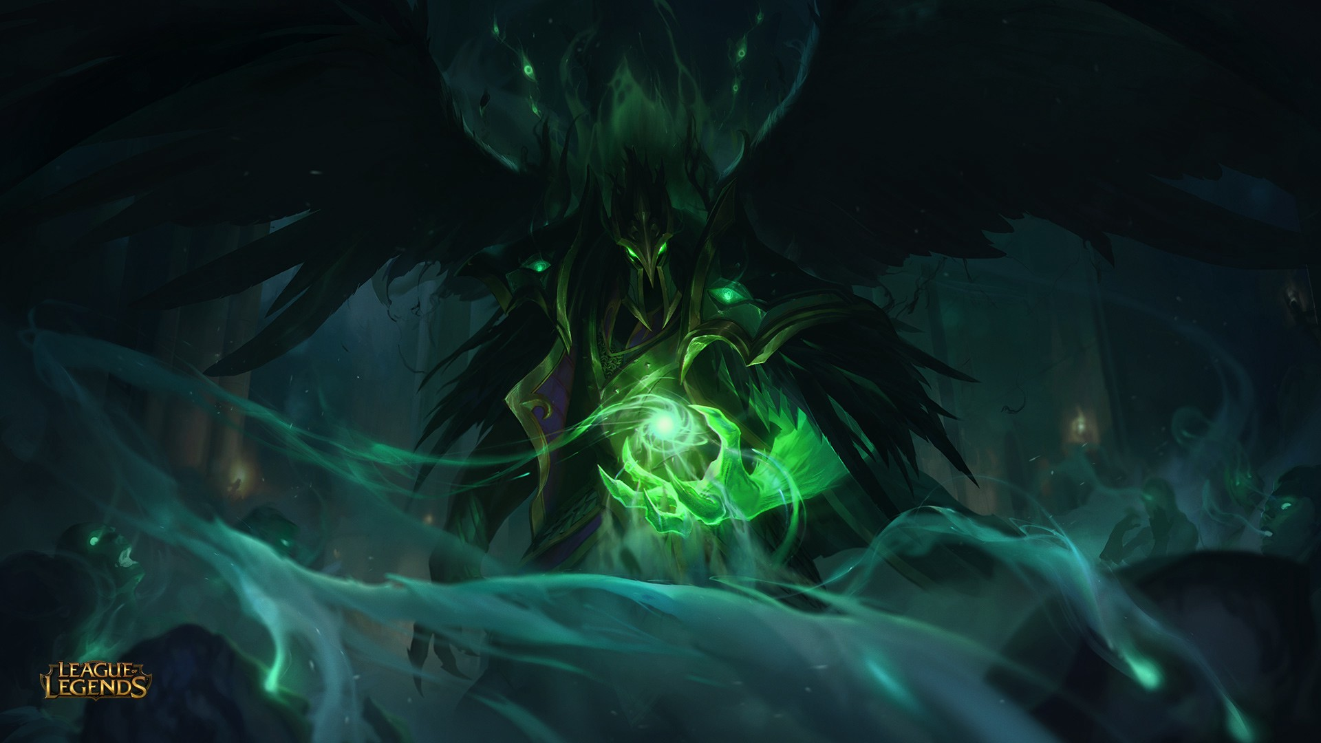 league of legends st patricks day tyrant swain skin