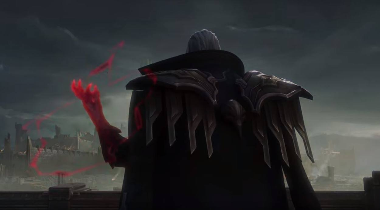 league of legends leader Swain