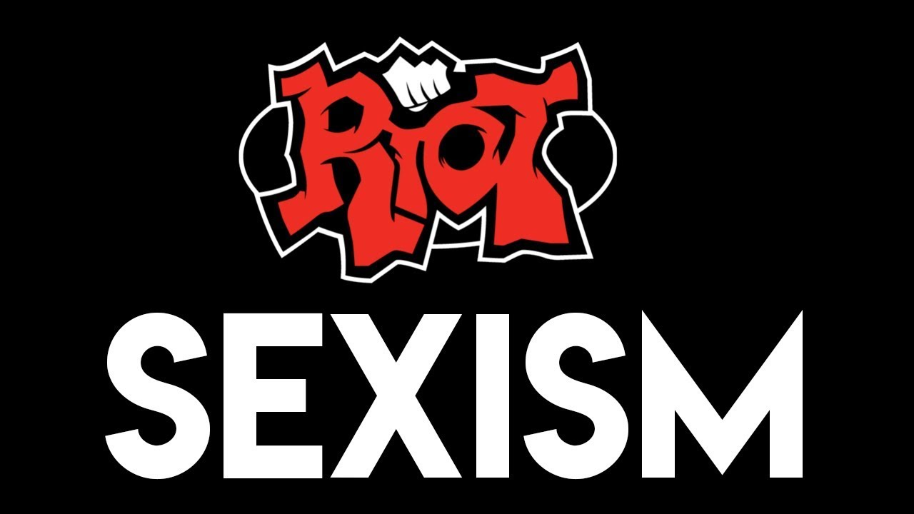 riot sexist image