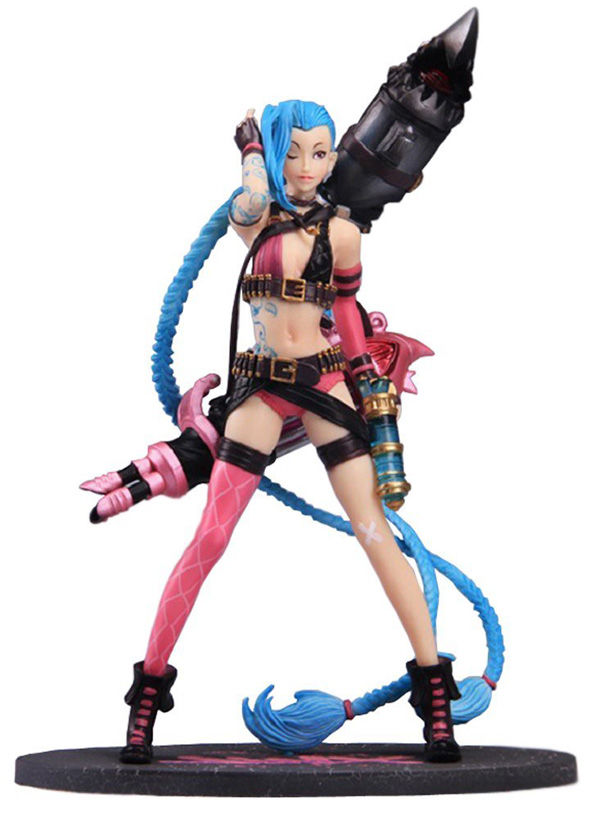 jinx league of legends figure