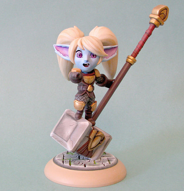 poppy action figure LoL