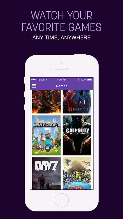 Twitch Mobile league of legends App