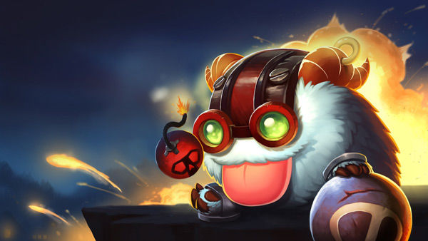 poro ziggs wallpaper