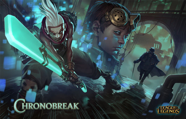 ekko chronobreak comic