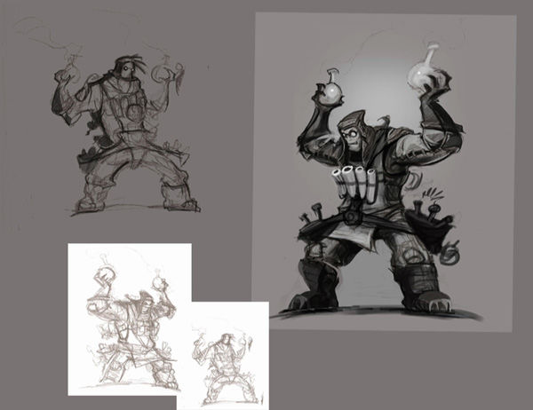 Ivan the Mad Bomber Concept Art