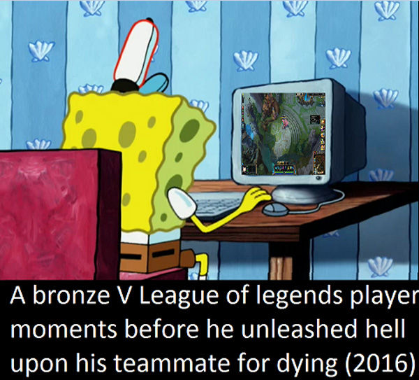 league of legends spongebob