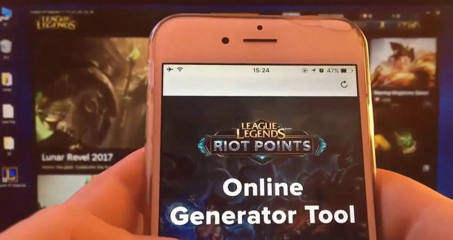 How to Get Free RP (Riot Points) Codes in League of Legends 2018