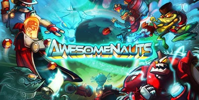 Awesomenauts game branding