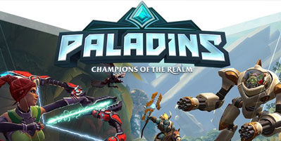 games like League of Legends paladins logo