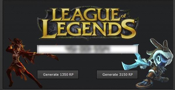 hack rp league of legends 2017