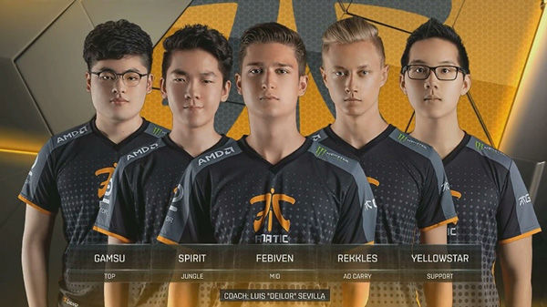 Fnatic League of Legends Team