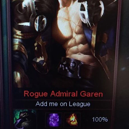 special characters in league names