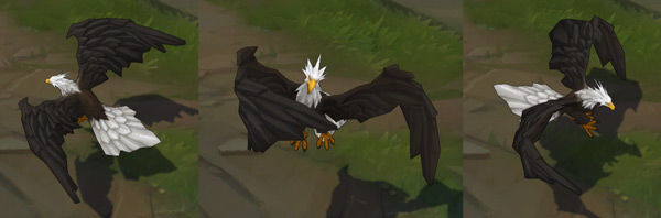 Bird of Prey Anivia League of Legends Independence Day Skin