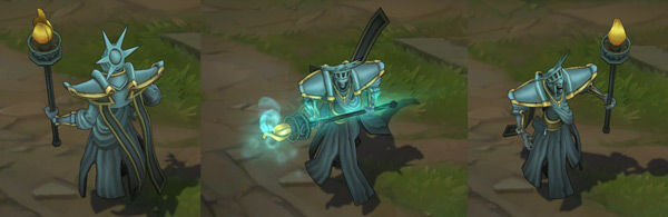 Statue of Karthus League of Legends Independence Day Skin