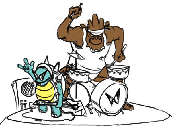Rock and Roll Rammus and Malphite