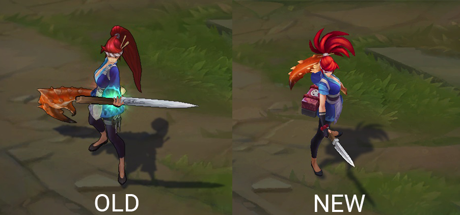akali rework before and after