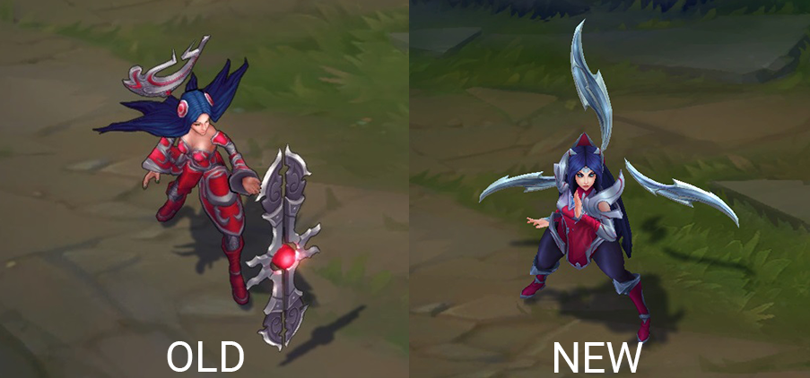 irelia rework before and after