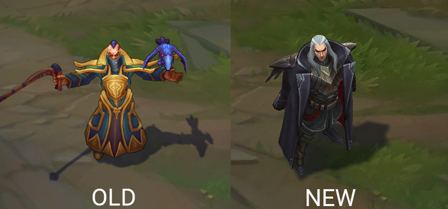 swain rework before and after