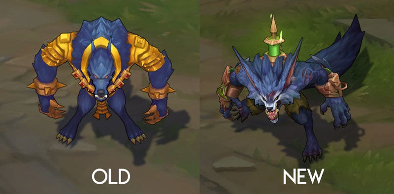 warwick rework before and after