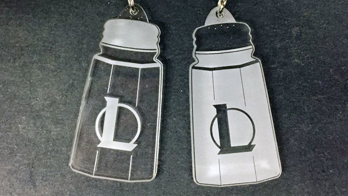 salty league of legends keychains
