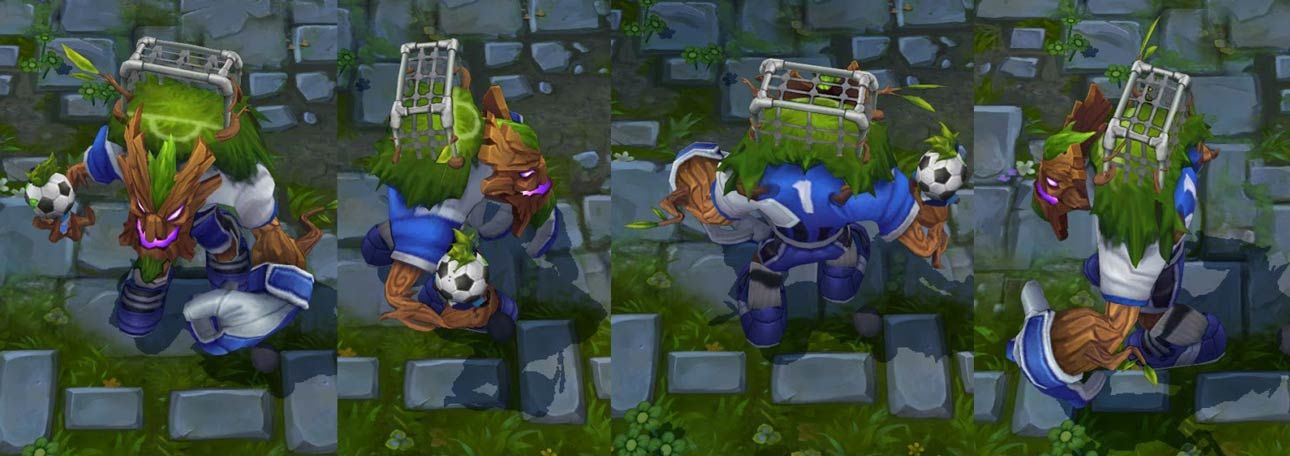 Goalkeeper Maokai League Of Legends Skin