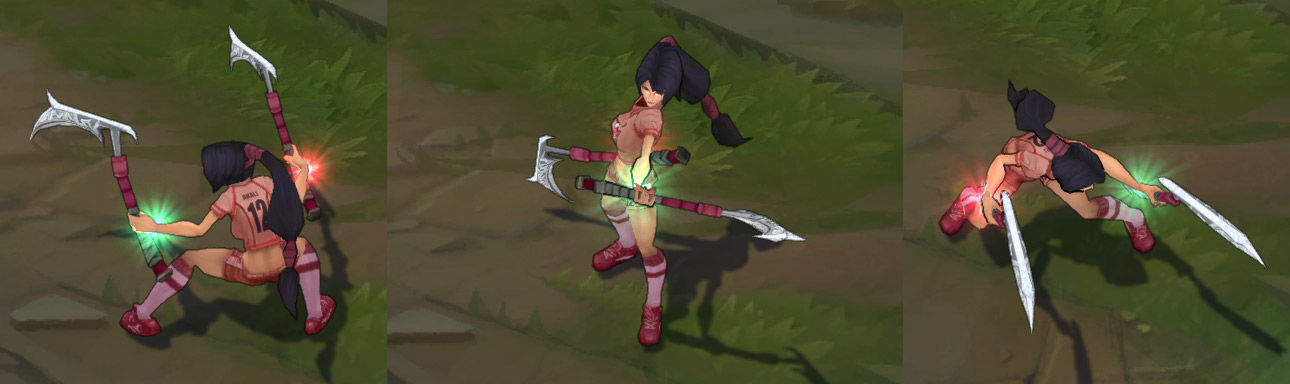 All Star Akali LoL Skin