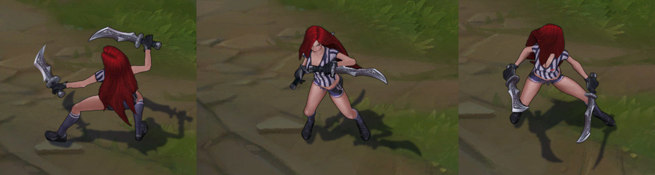 Red Card Katarina LoL Skin