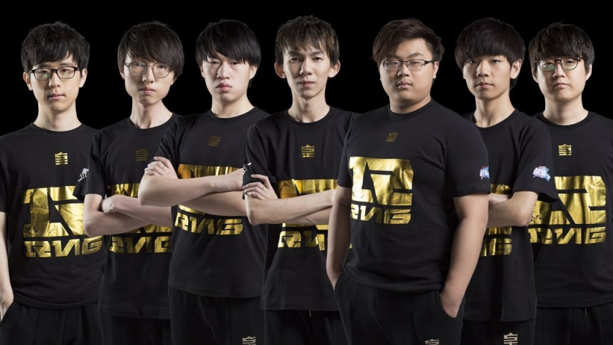 league of legends chinese team
