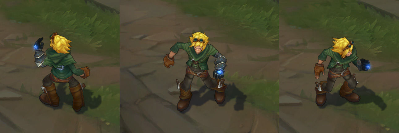Ezreal League of Legends Skin
