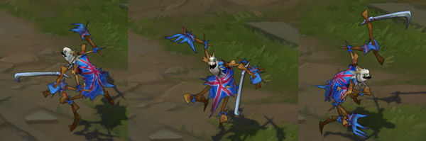 fiddlesticks union jack league of legends skin