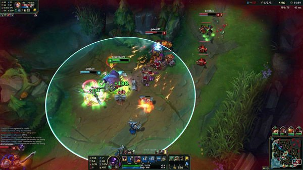 league of legends gameplay
