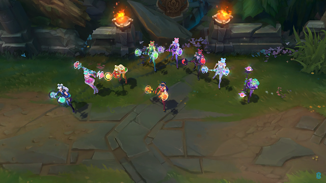 Space groove lux chromas