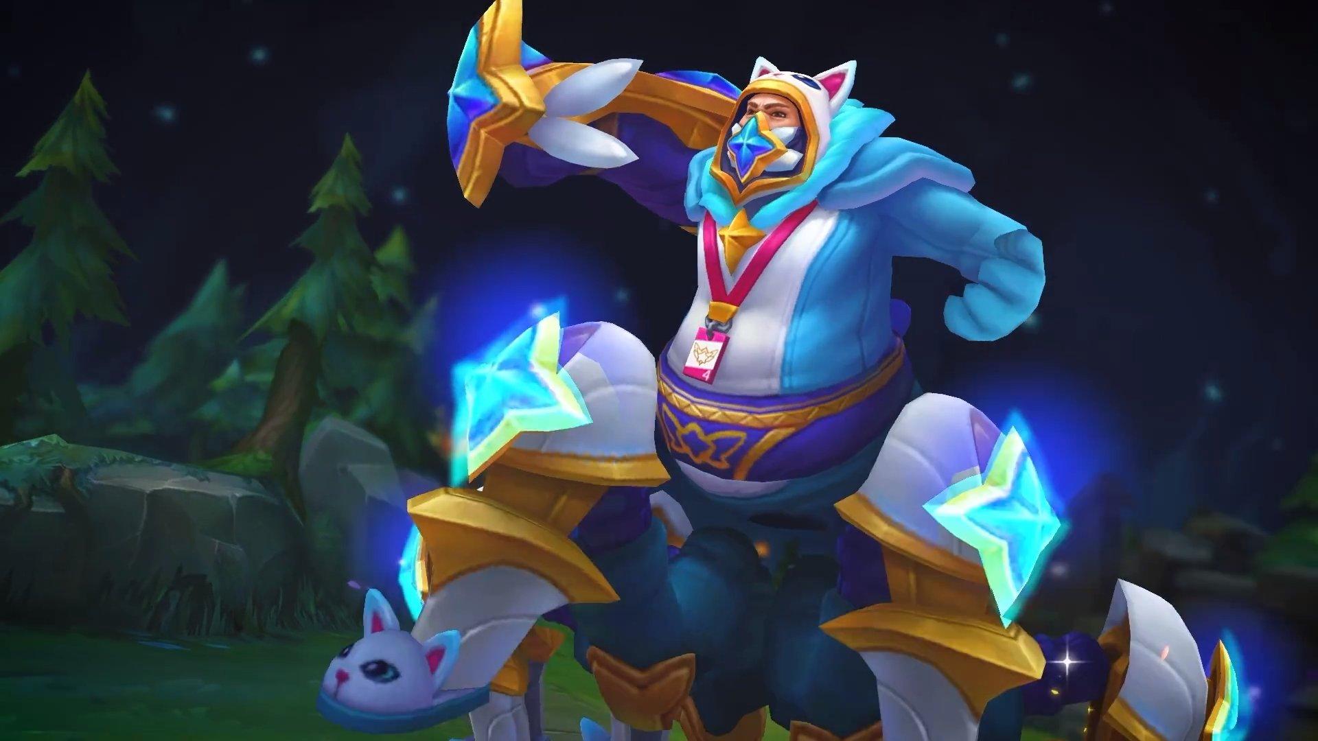 league of legends pajama guardian cosplay urgot skin