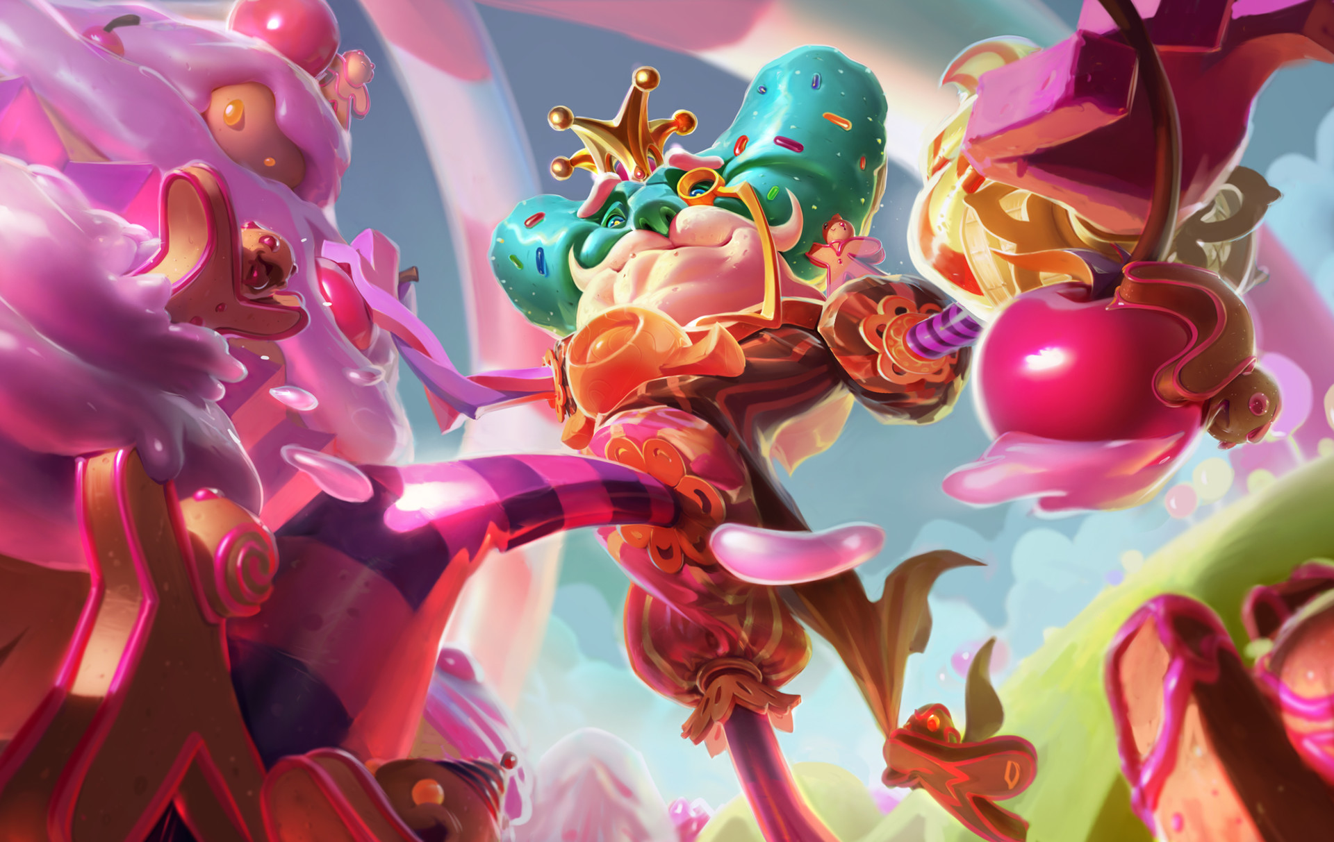 league of legends candy king ivern easter skin