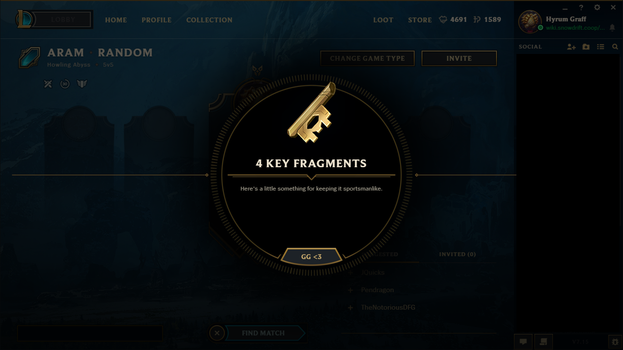 lol key fragments