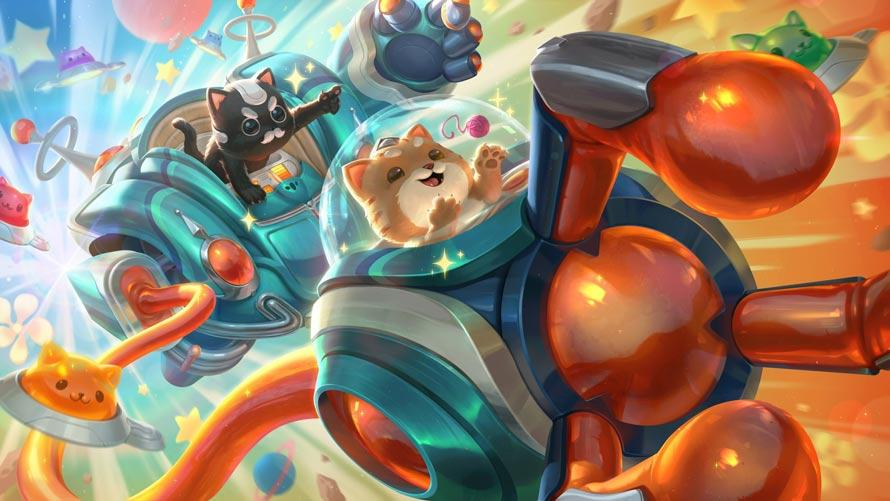 Space Groove Blitzcrank splash