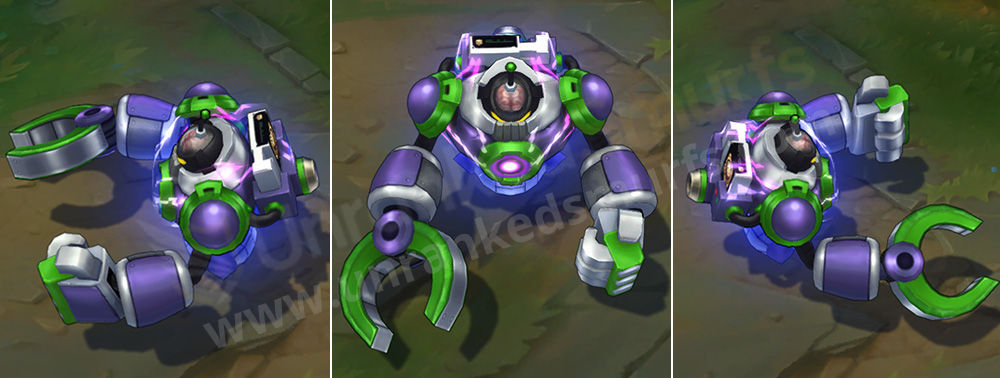 Battle Boss Blitzcrank League of Legends Skin