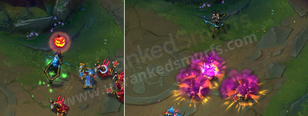 Bewitching Tristana explosion