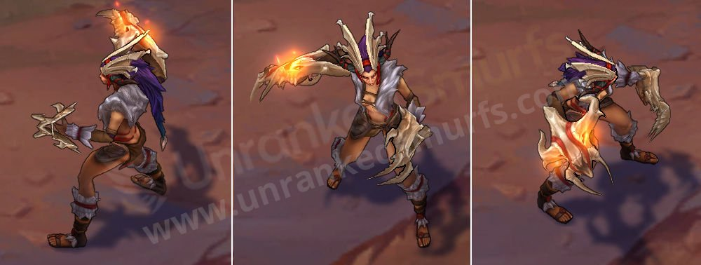 Boneclaw Shyvana League of Legends skin