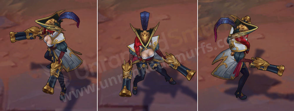 Captain Fortune League of Legends skin