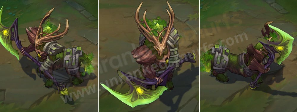 Elderwood Hecarim League of Legends Skin