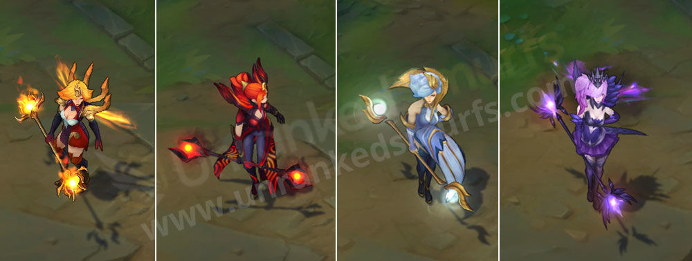 Elementalist Lux League Of Legends Ultimate Skin