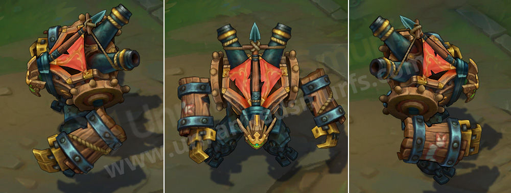 Ironside Malphite League of Legends Skin