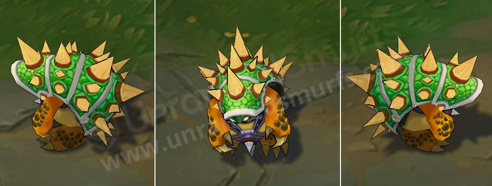 King Rammus League of Legends Skin