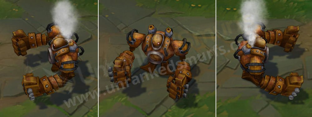 Rusty Blitzcrank League of Legends Skin