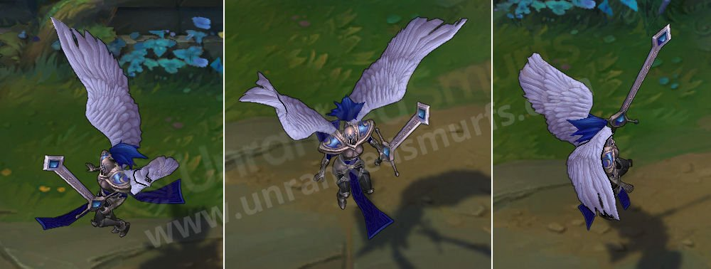 Silver Kayle League of Legends Skin